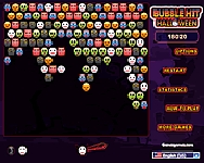 Bubble hit halloween online j�t�k